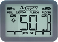 LaTrax Alias Quad-Rotor Heli (#6608) LCD Screen