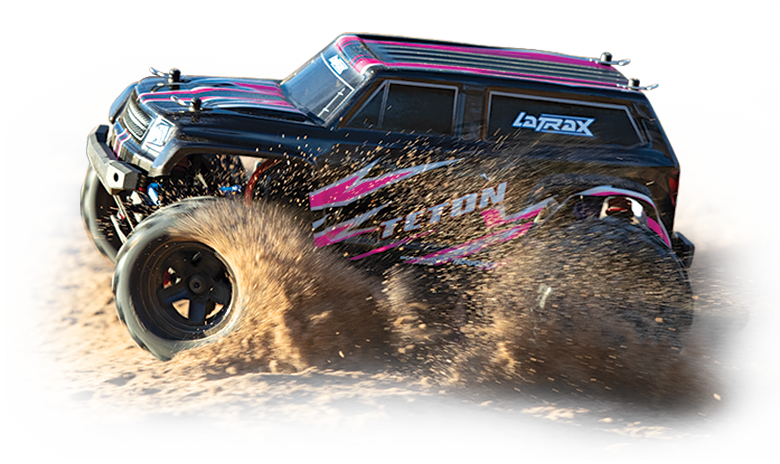 LaTrax Traxxas 1//18 Teton 4WD RTR R//C 2.4GHz Car With Battery//Charger TRA760545