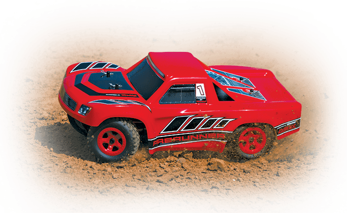 1/18 LaTrax Desert Prerunner (#76064-5) Action (Red)