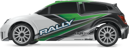 1/18 LaTrax Rally (#75054/#75054-1) Side (Green)