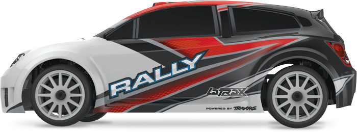 1/18 LaTrax Rally (#75054/#75054-1) Side (Red)