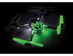 Green LaTrax Alias: Quad Rotor Helicopter, Ready-To-Fly with 2.4GHz radio system, 650mAh LiPo battery, and single USB-powered charger.