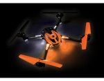 Orange LaTrax Alias: Quad Rotor Helicopter, Ready-To-Fly with 2.4GHz radio system, 650mAh LiPo battery, and single USB-powered charger.