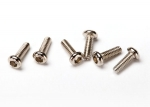 Screws, 1.6x5mm button-head machine (hex drive) (6)