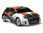 ORANGE LaTrax® Rally: 1/18 Scale 4WD Electric Rally Racer