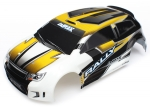 Body, LaTrax® 1/18 Rally, yellow (painted)/ decals