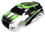 Body, LaTrax® 1/18 Rally, green (painted)/ decals