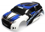 Body, LaTrax® 1/18 Rally, blue (painted)/ decals
