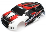 Body, LaTrax® 1/18 Rally, red (painted)/ decals